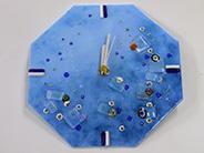 インストラクター養成講座|時 計|カトレアガラスクラフト研究会