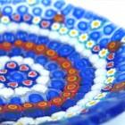 石膏型でつくるミルフィオリの小皿1