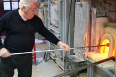 ミルフィオリの作り方1|カトレアガラスクラフト研究会