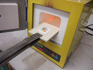 ガラスフュージング技法とは4|カトレアガラスクラフト研究会