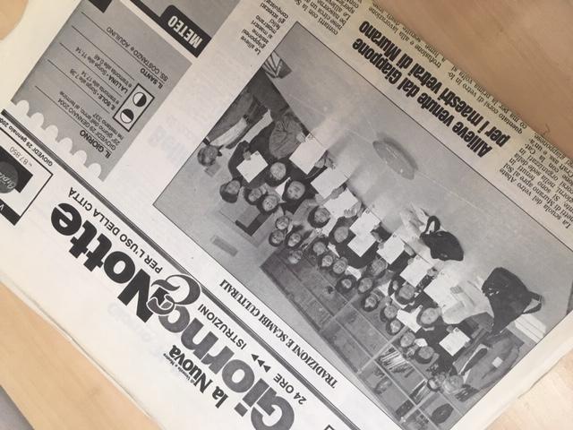2004.1.29のベネチアの新聞