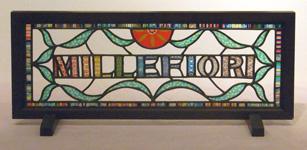 第10回カトレアガラスクラフト研究会作品展 ローザ賞:仁藤久美子さん「MILLEFIOR ヴェネツィアからの贈り物」